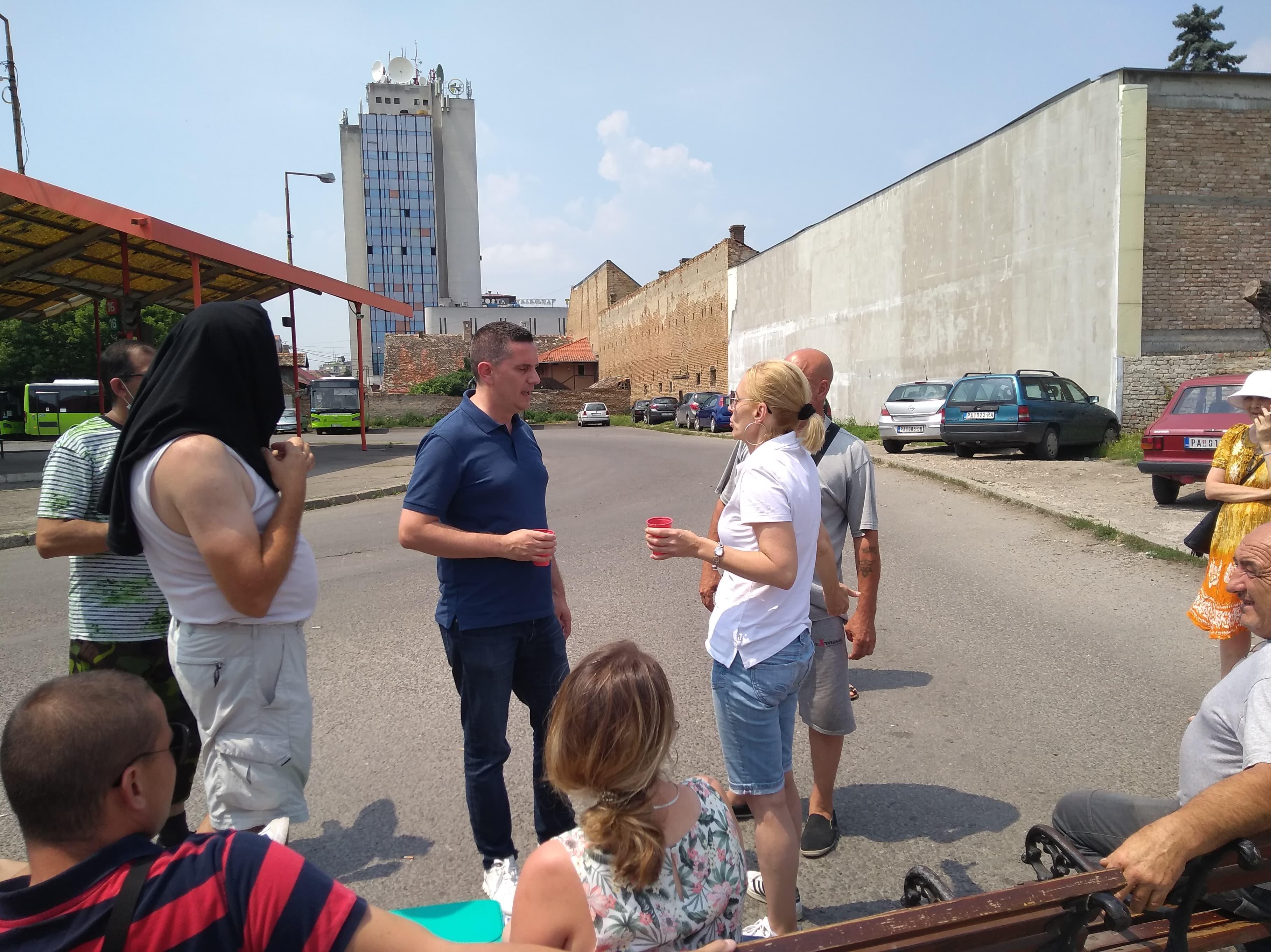 Vidojević sa radnicima ATP