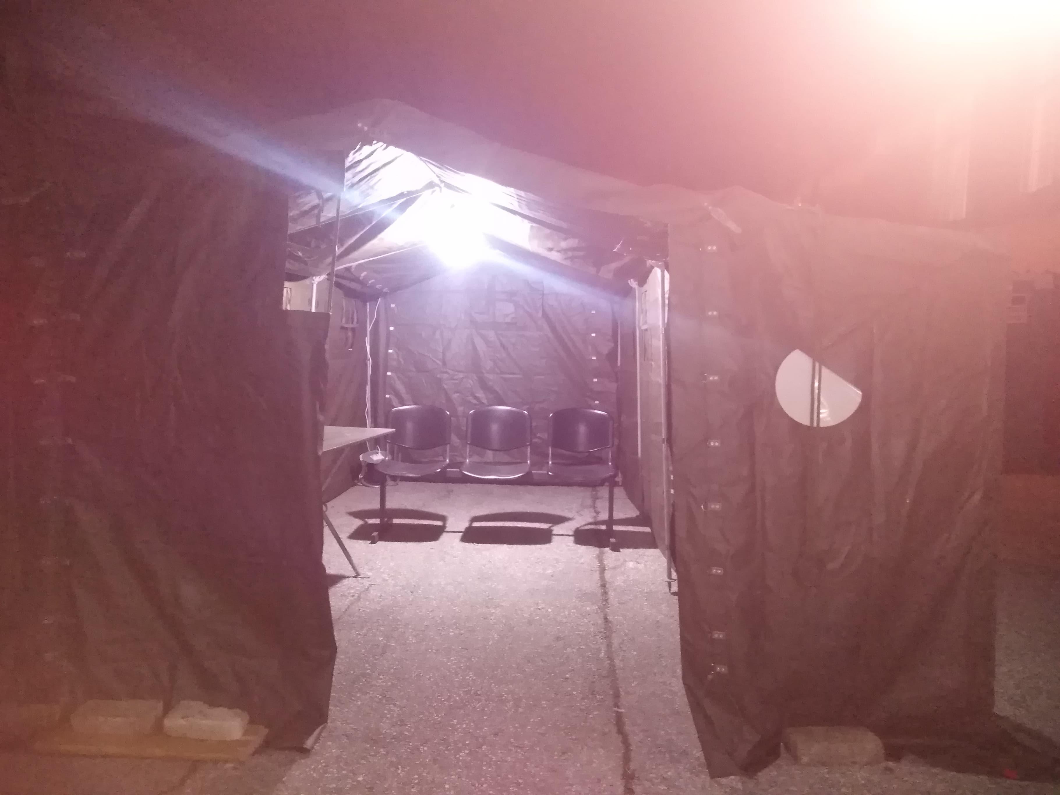 Šator kovid
