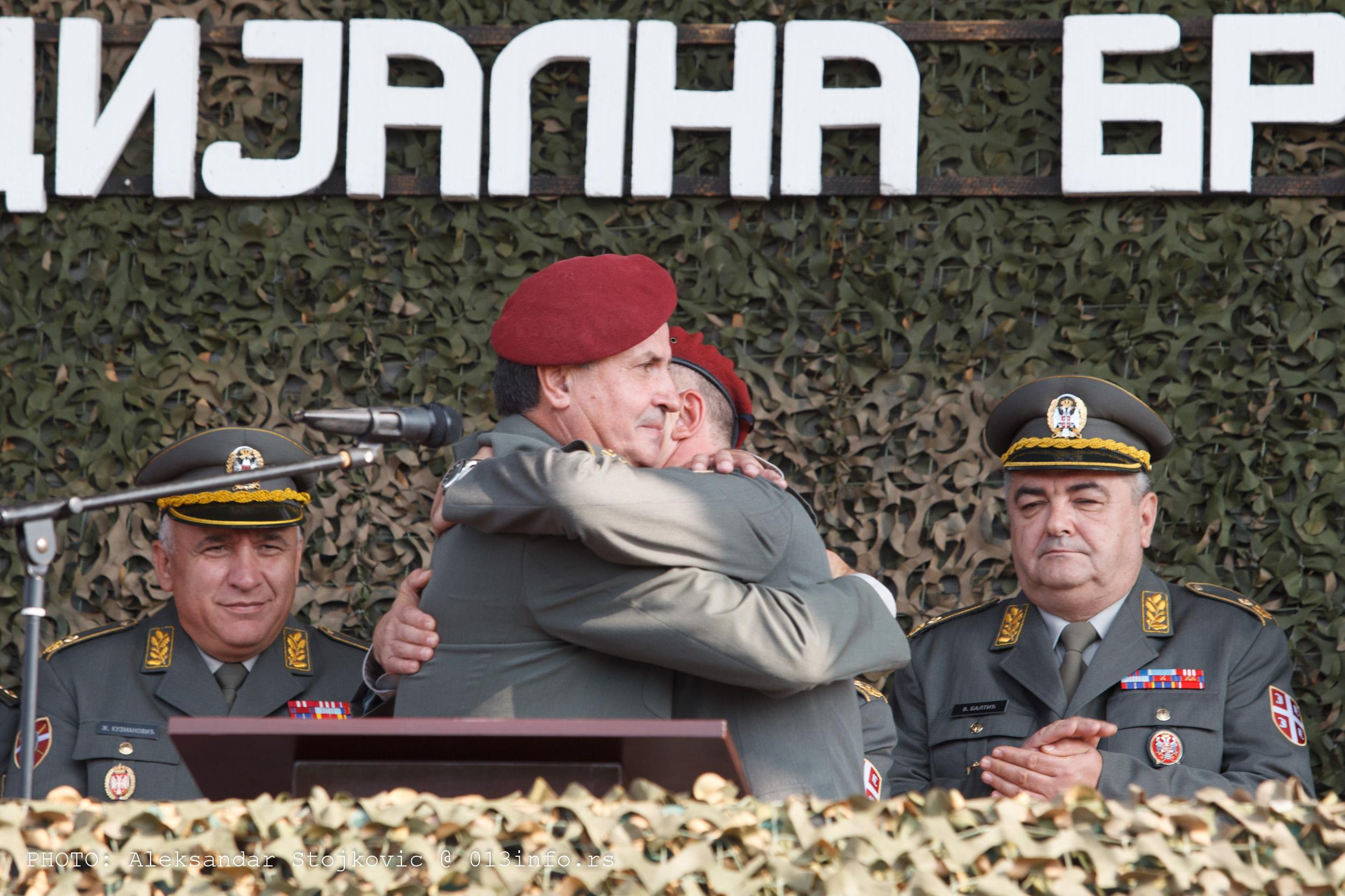 Promena komandanta Specijalne brigade KOV
