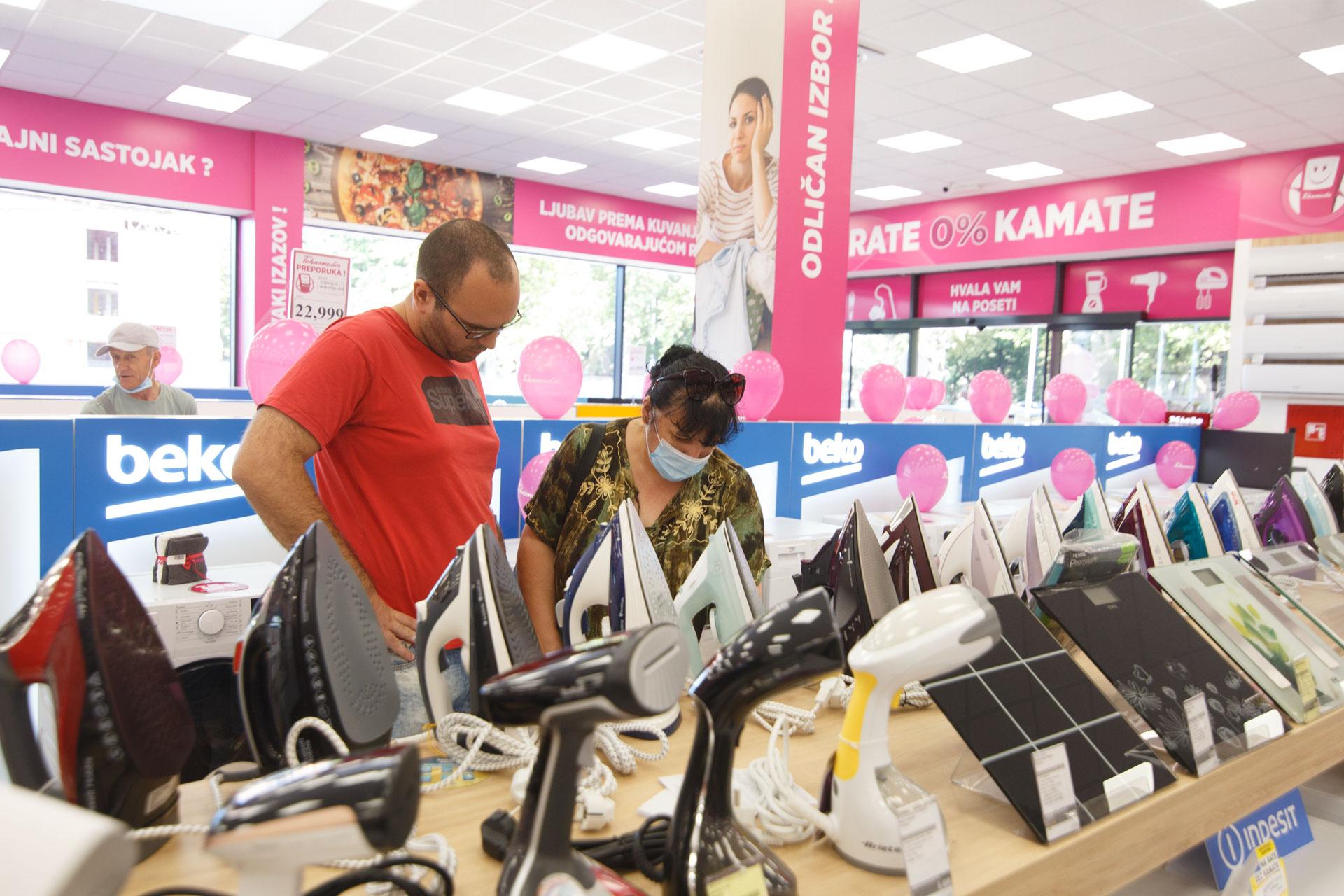 Tehnomedija prodavnica u Pančevu