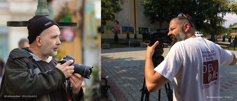 Aleksandar Stojković i Aleksandar Tokin