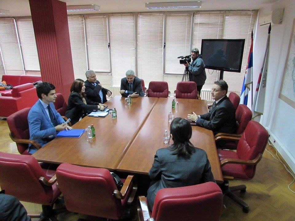 Ambasadorka Rumunije Joana Kristina Popa u poseti Pančevu