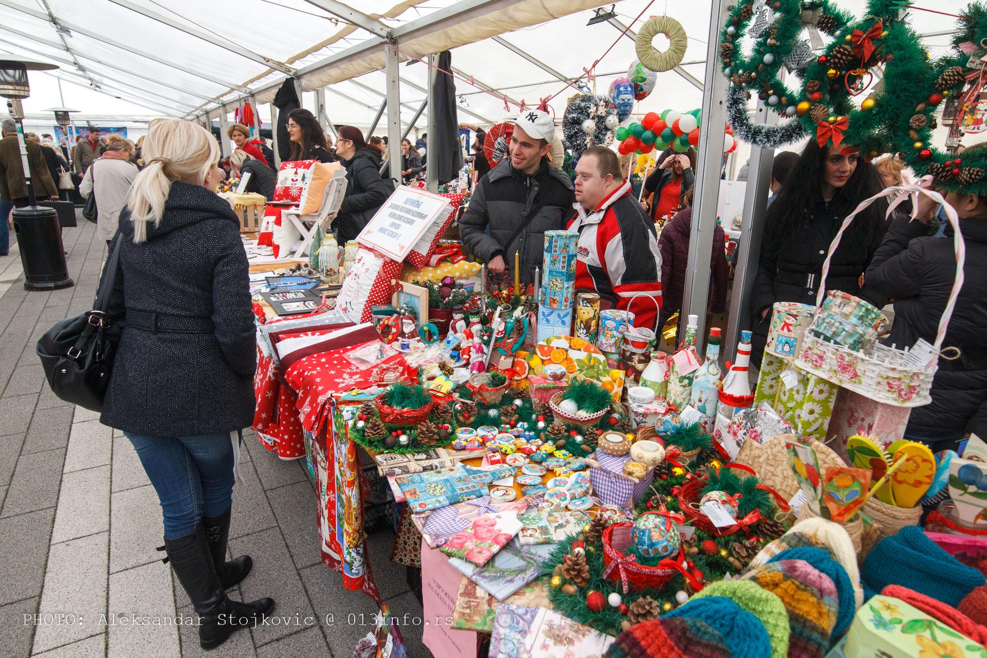 Novogodisnji bazar 2019 Pančevo