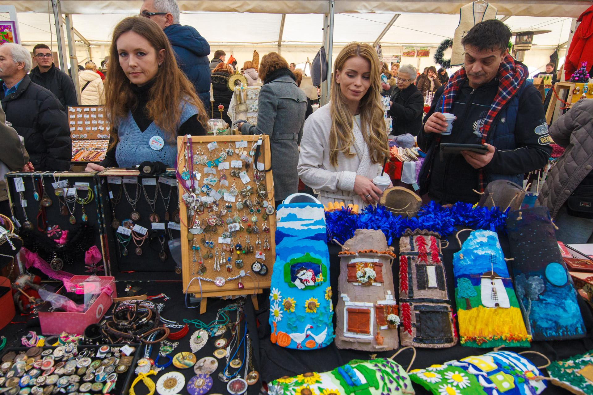 Novogodišnji bazar u Pančevu 2018.