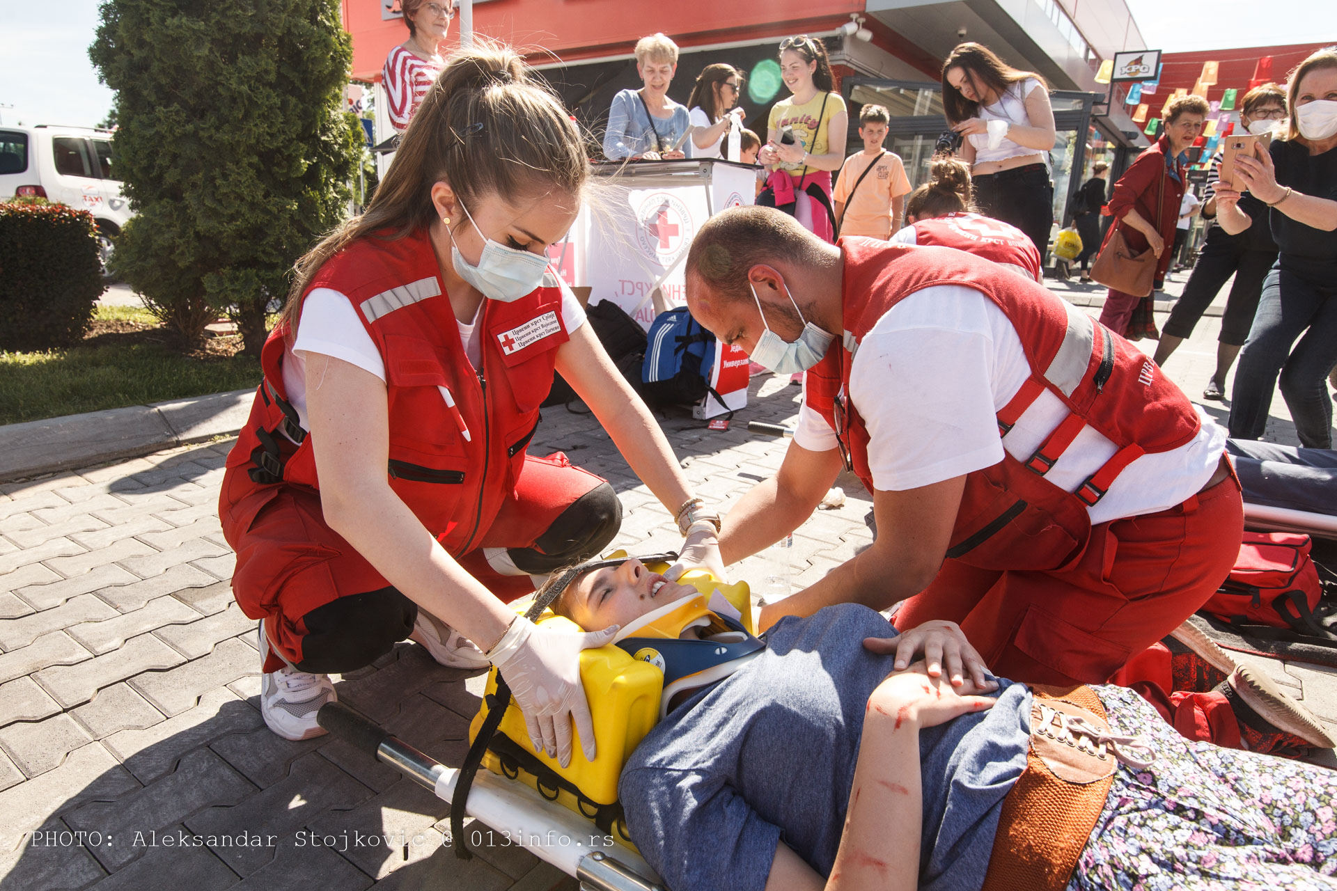 Vežba Crveni krst