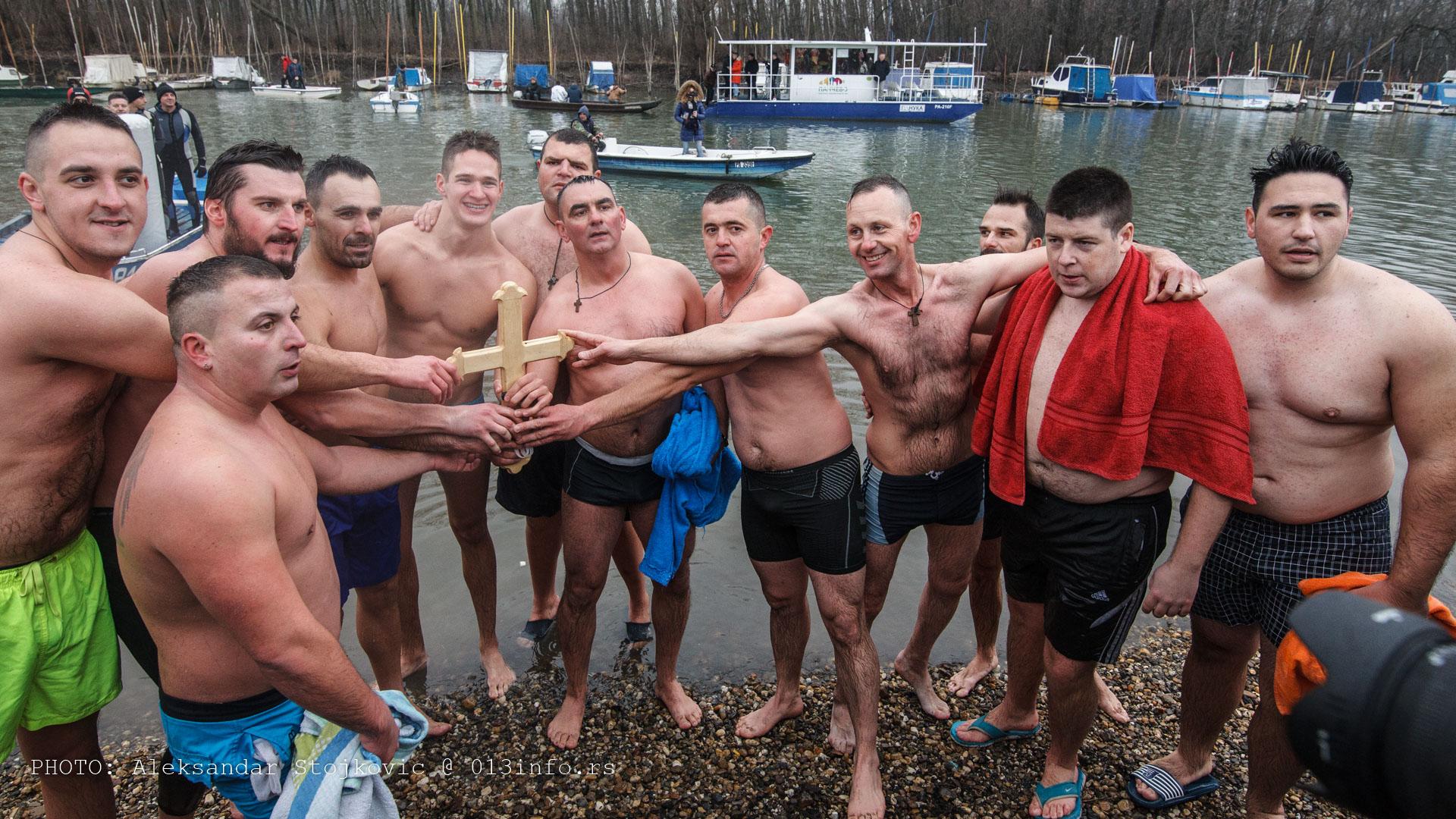Plivanje za časni krst Pančevo 2020