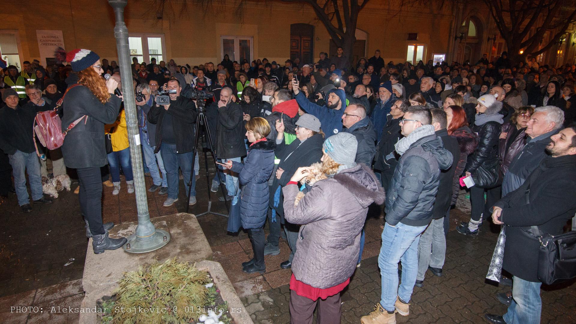 Protest #1od5miliona Pančevo