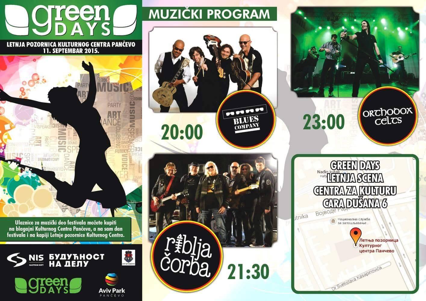 Flajer Green fest