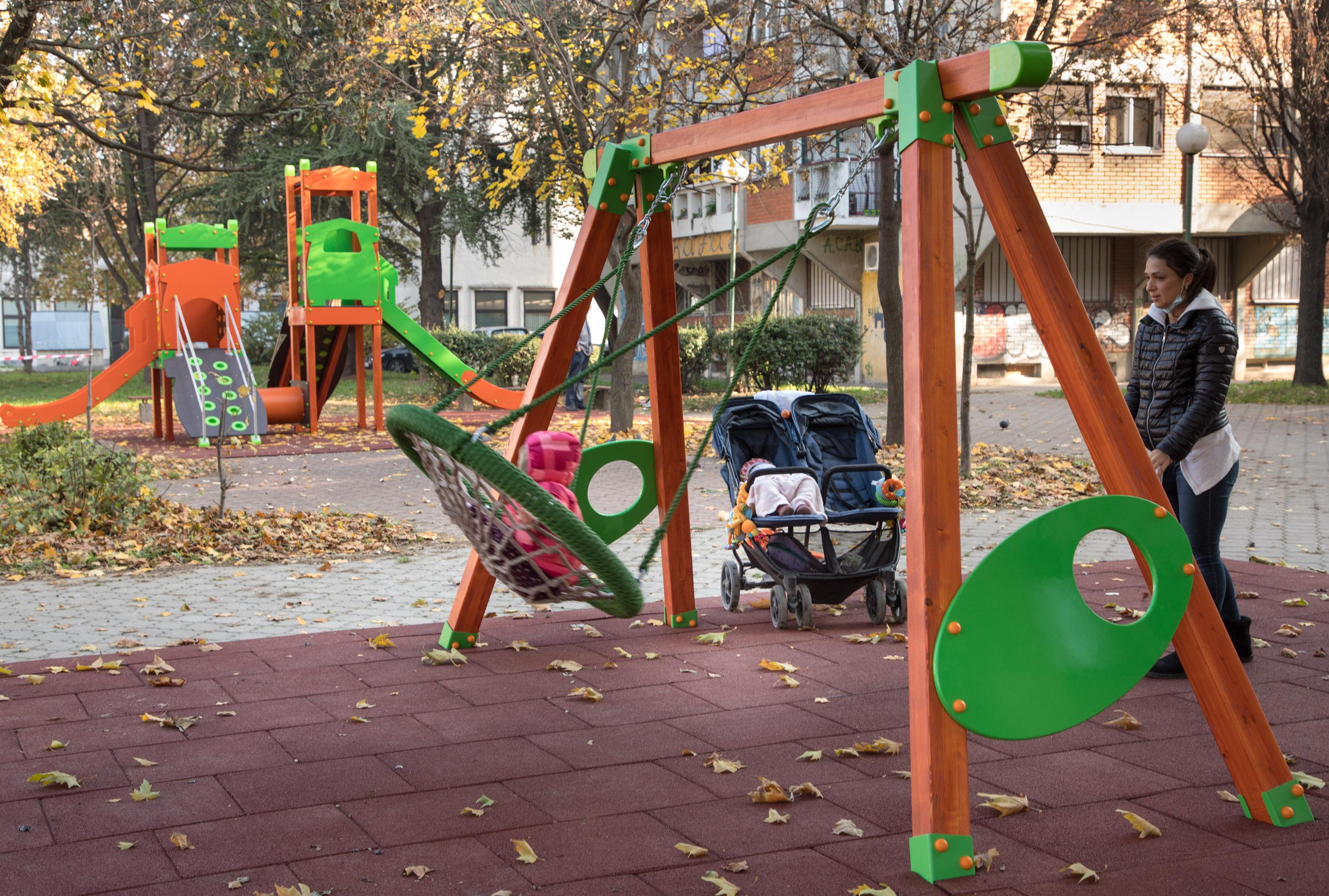Igralište kod Gradske bilbioteke Pančevo
