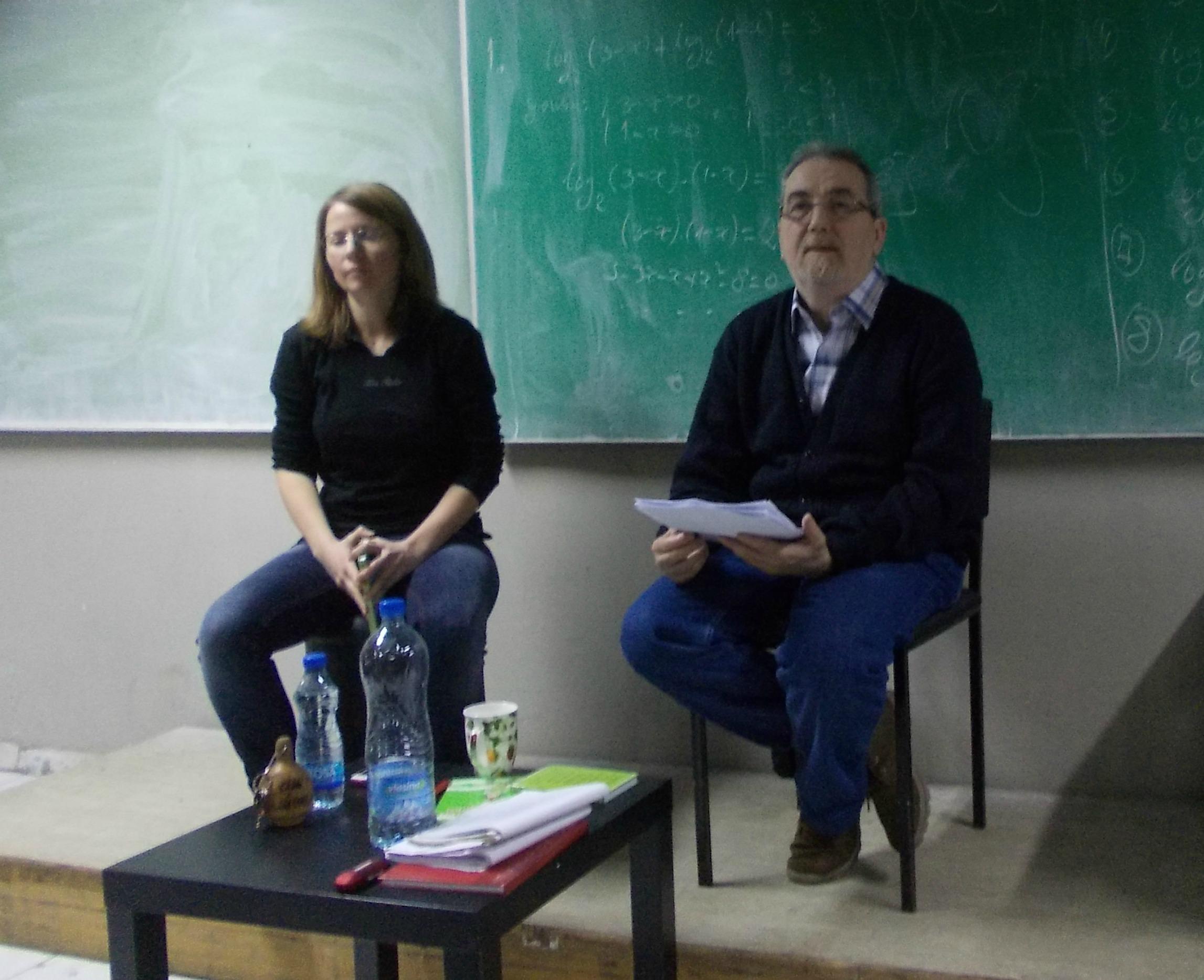 Zoran T. Popović, književno veče, Tehnička škola