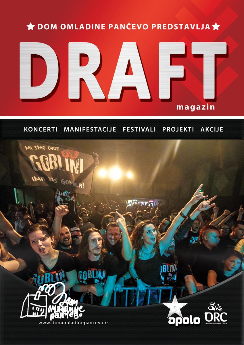 Naslovna 16. Draft magazina