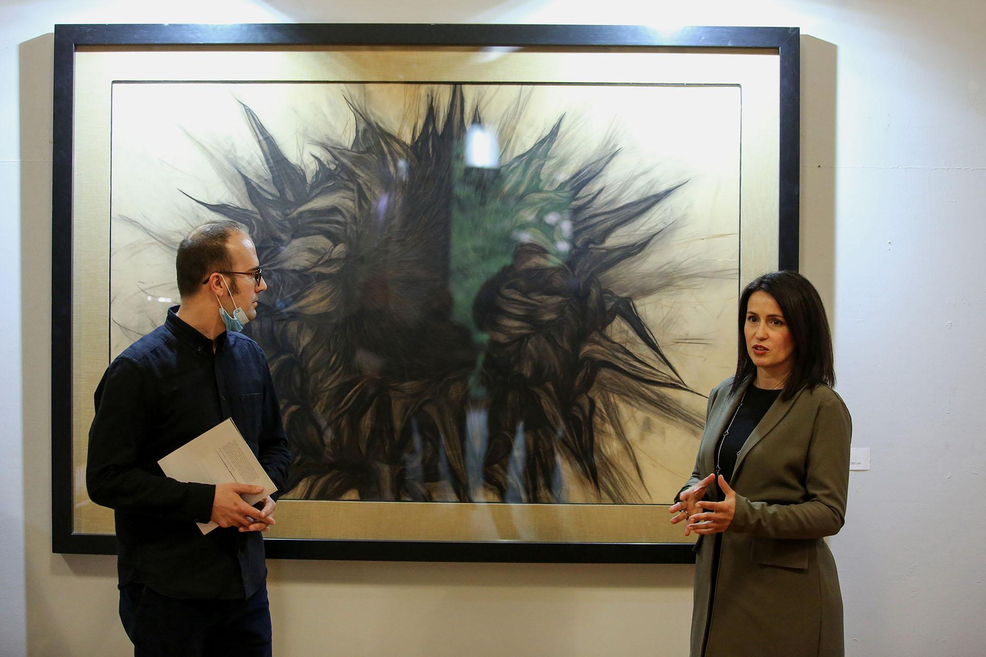 Otvaranje izložbe Maje Poljak