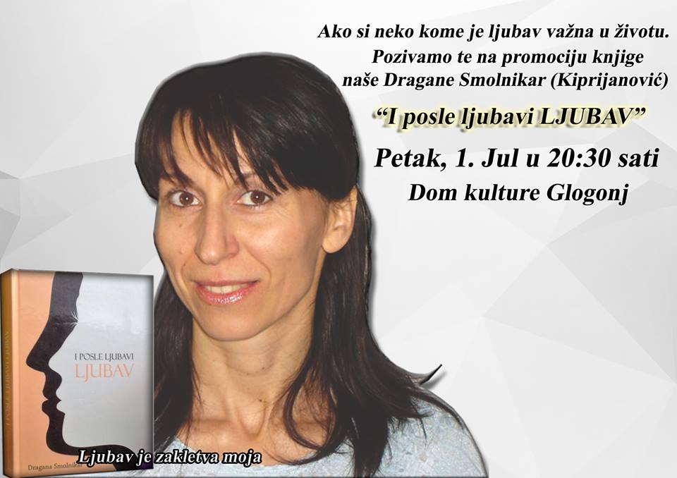 """Knjiga """"I posle ljubavi LJUBAV"""" Dragane Smolnikar"""