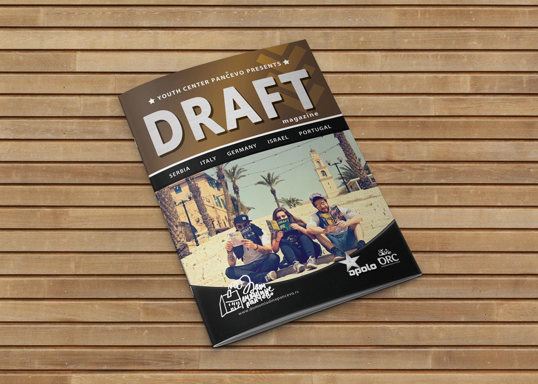 Naslovna 18. Draft magazina