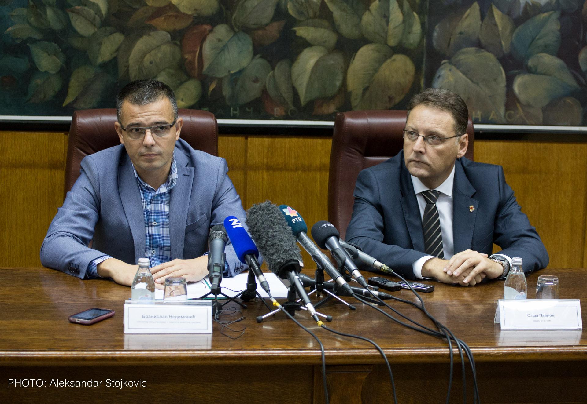 Branislav Nedimović Saša Pavlov uzurpacija