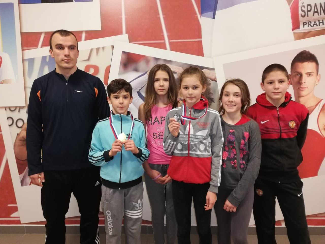 Atletičari Tamiša na Otvorenom prvenstvu Beograda