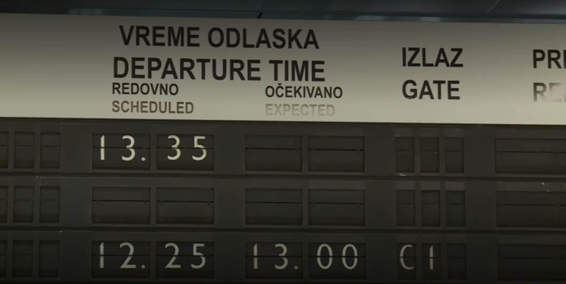 Aerodrom odlasci
