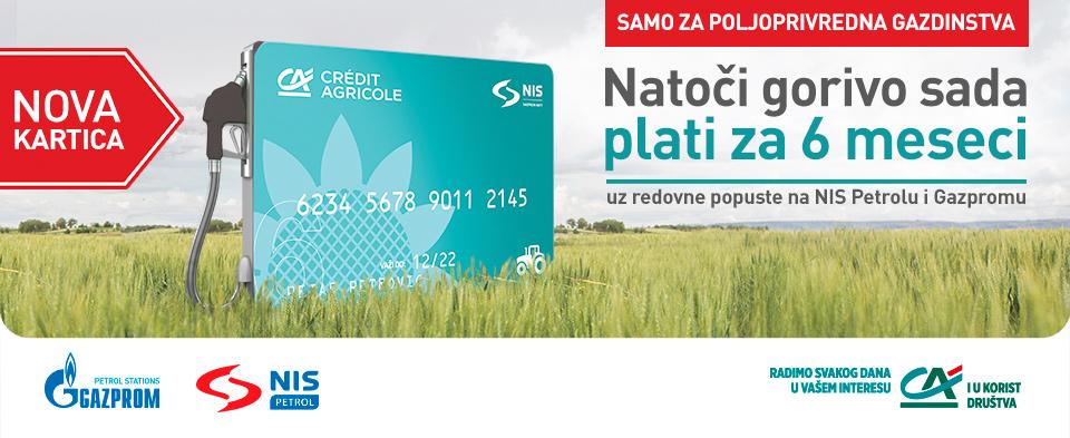 AgroBlue kartica