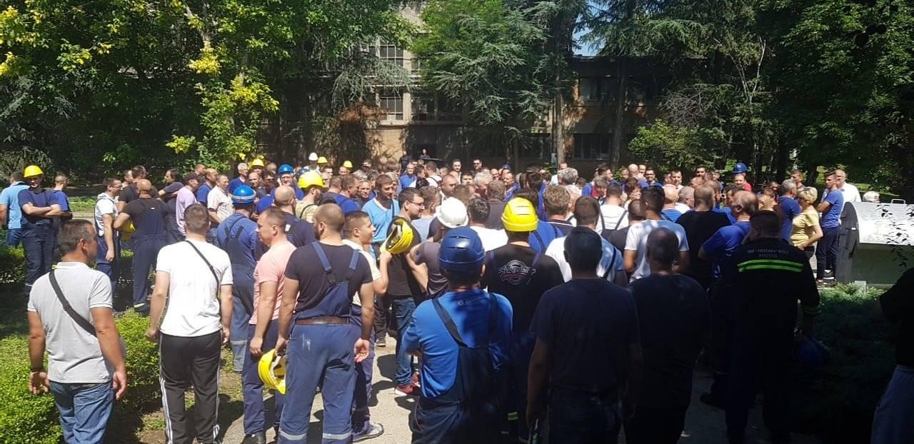 Azotara Pančevo, protest u petak 13. jula