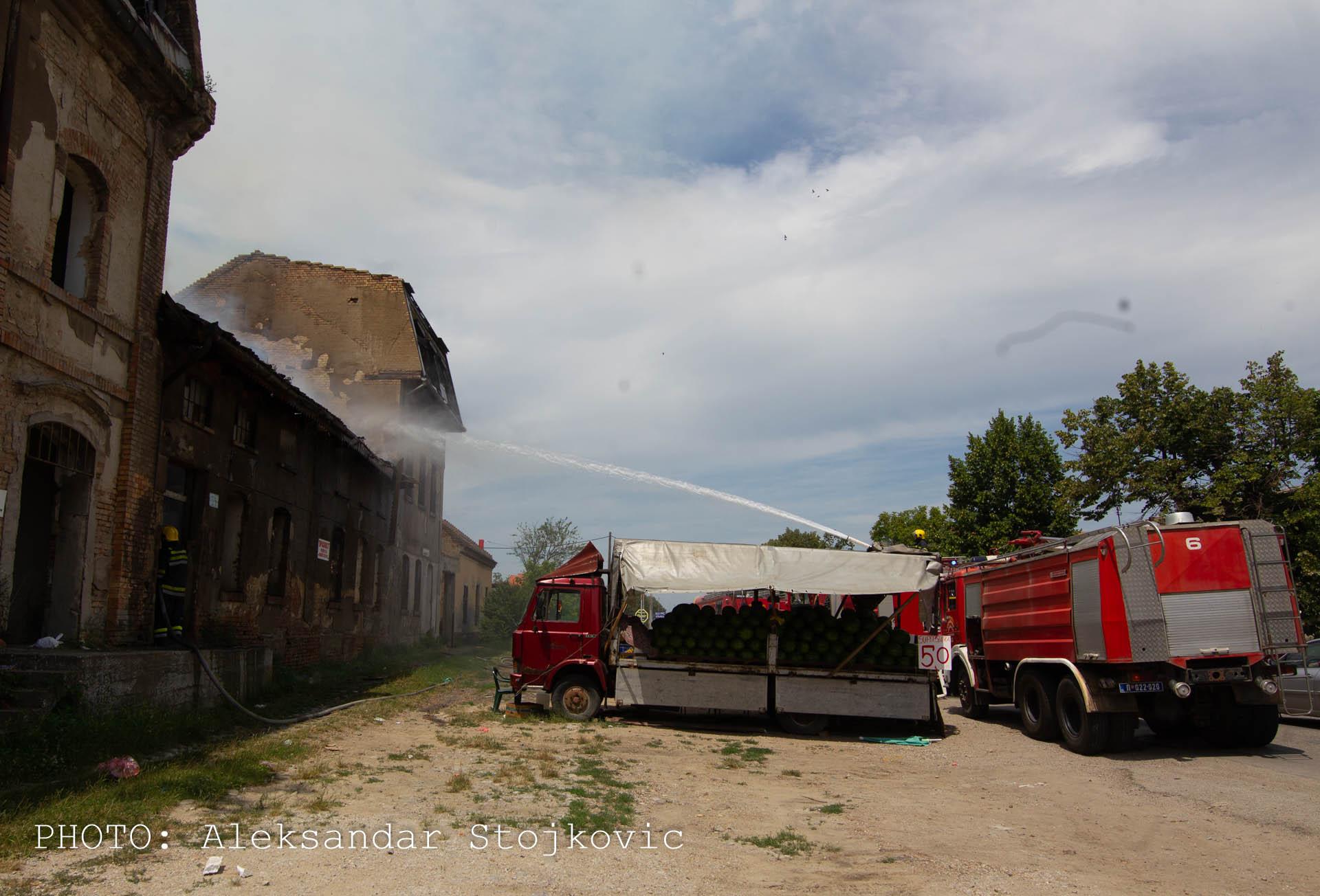 Stari mlin požar