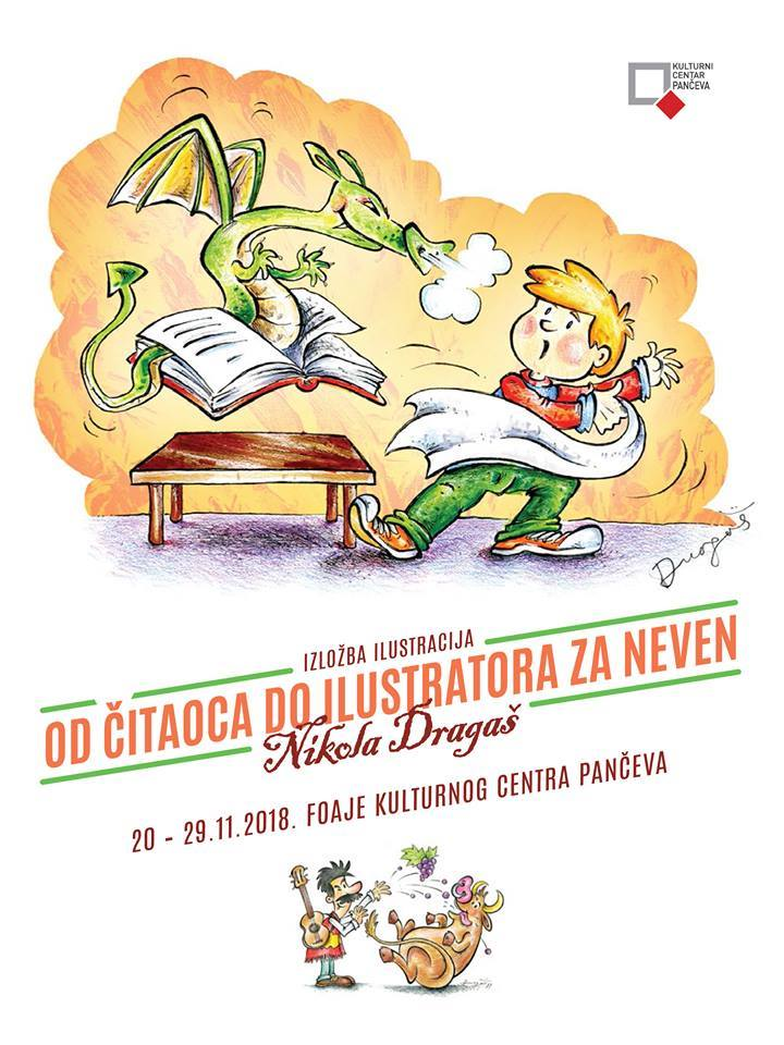 Izložba ilustracija Nikole Dragaša