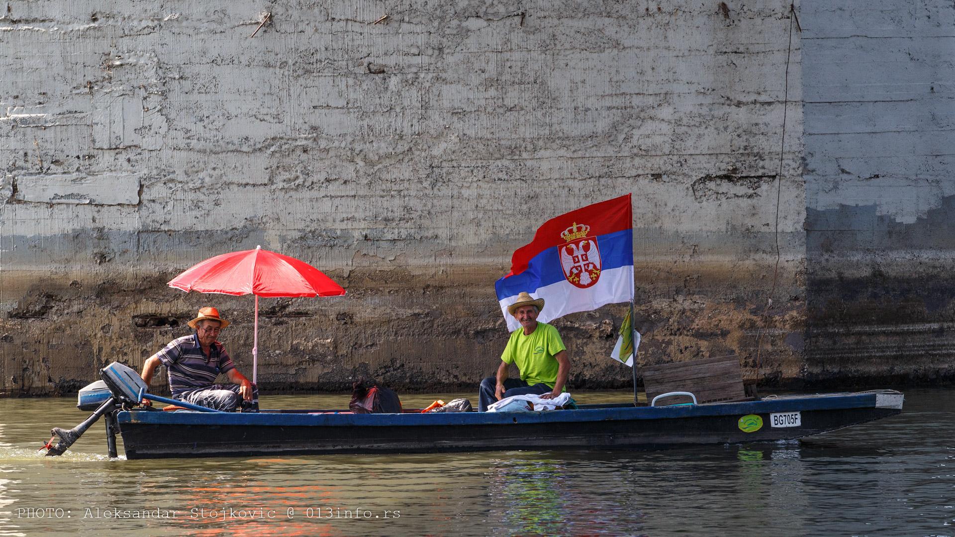 Učesnici Eko regate 2017 Pančevo