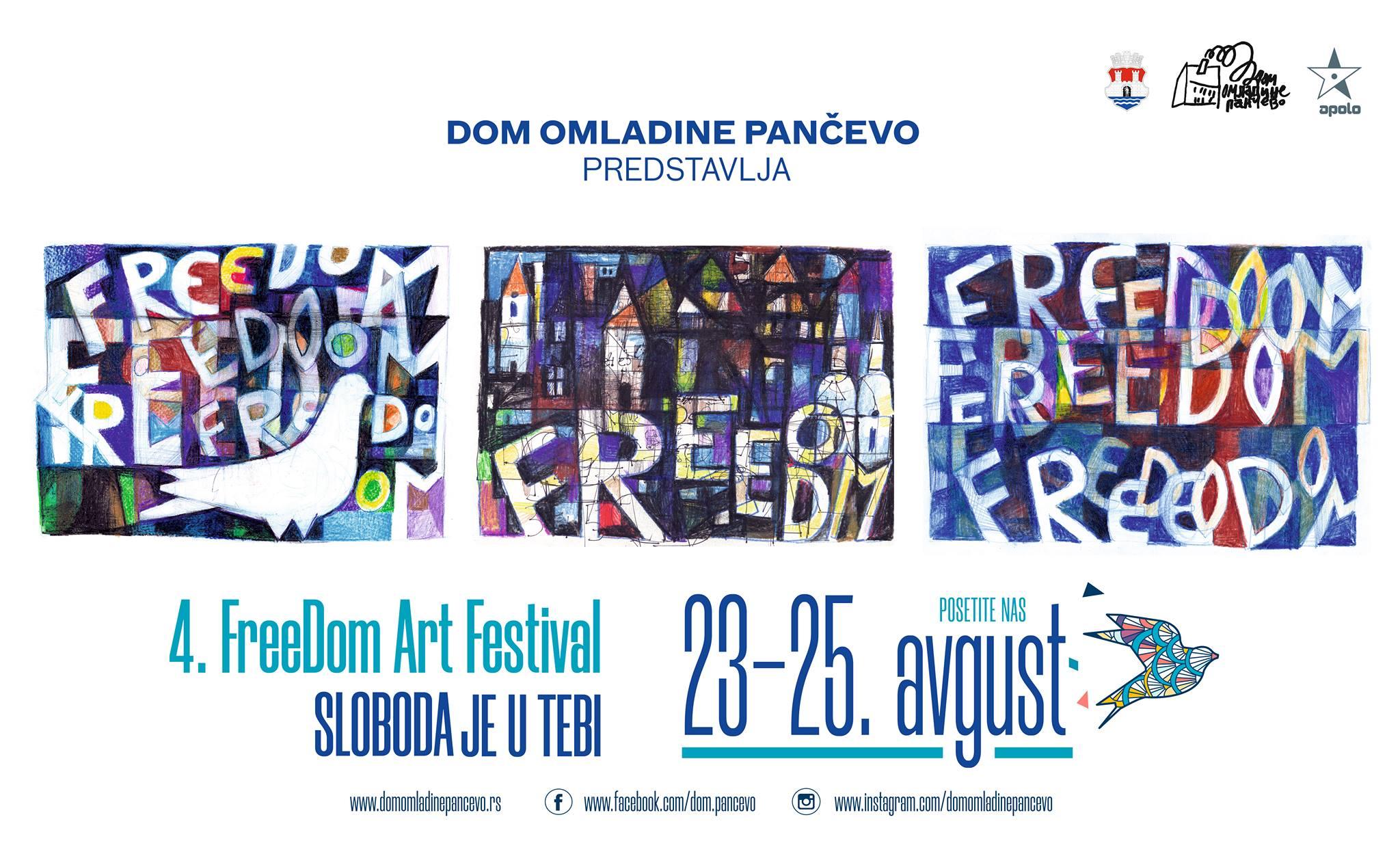 Plakat Freedom Art festivala