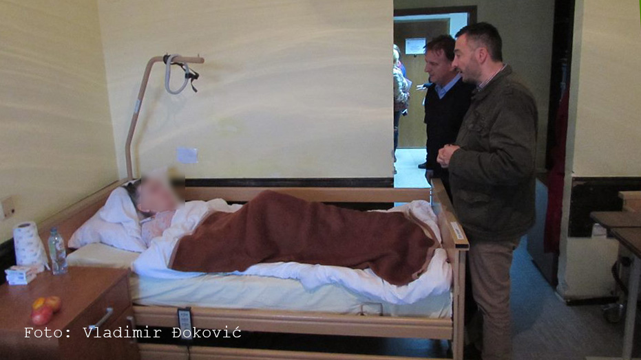 Vuletić u poseti Gerontološkom centru Pančevo