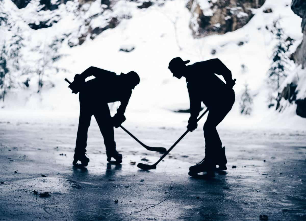 Hokej led