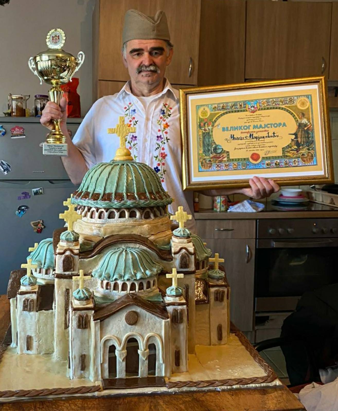 Majstor Miloje i Hram Svetog Save