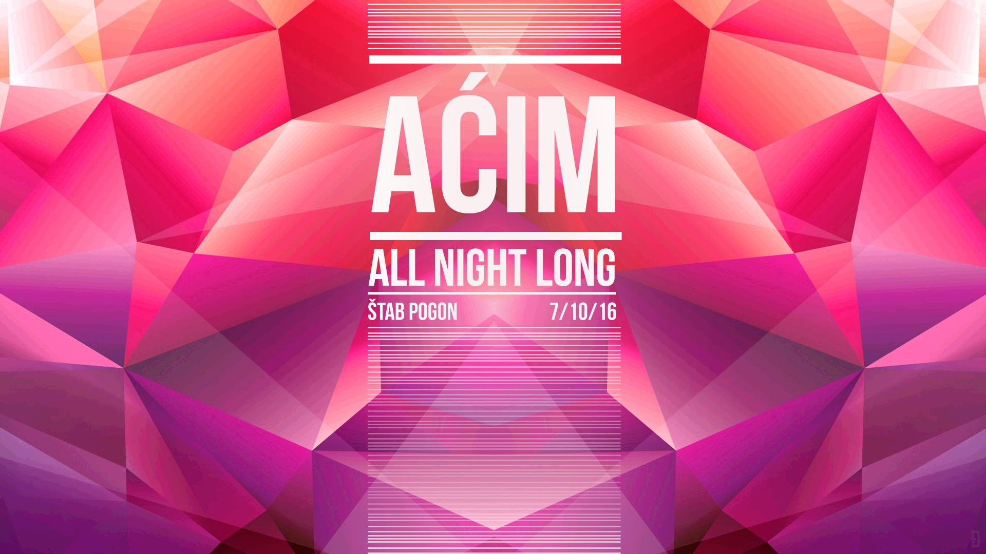DJ Aćim All Night Long