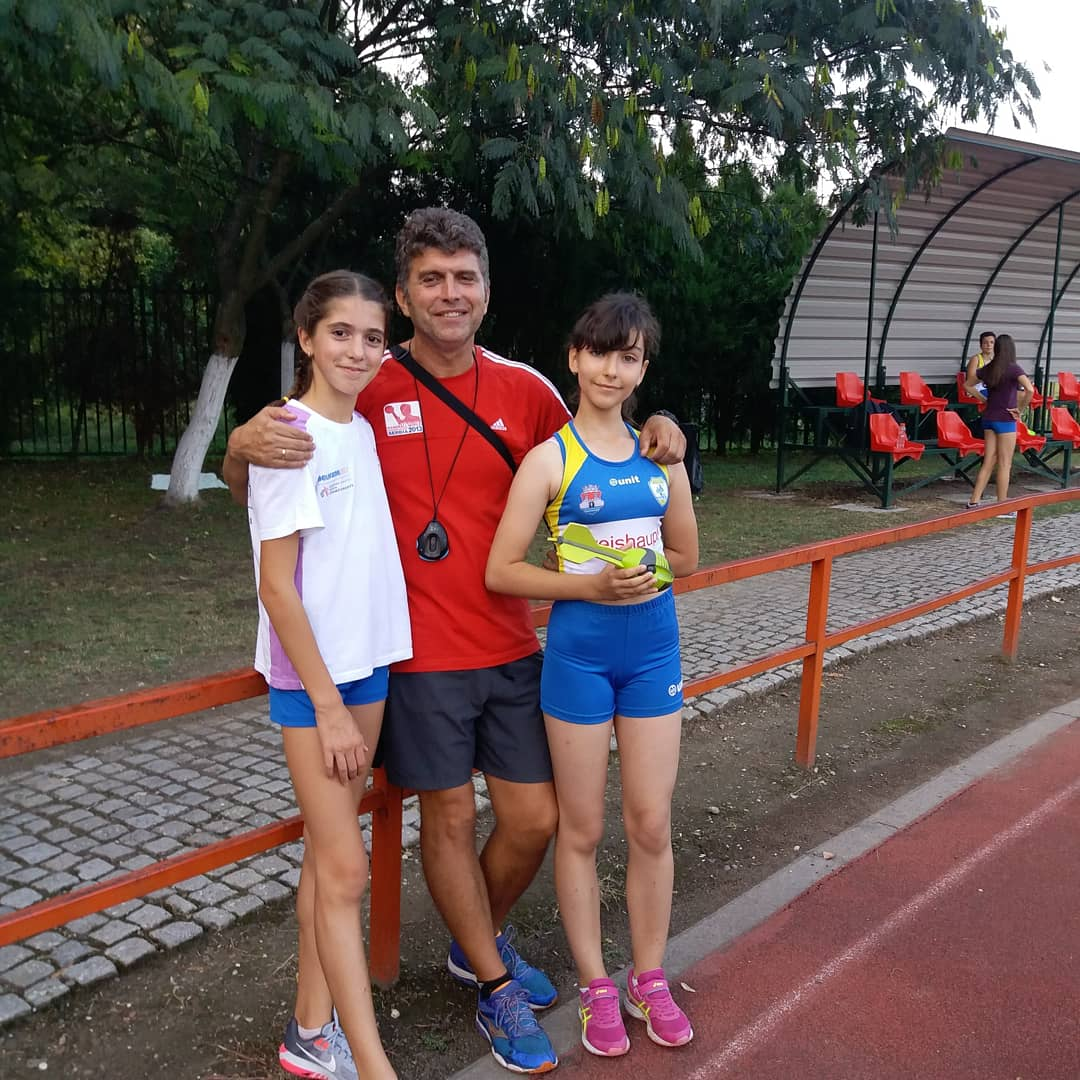 Atletičarke pančevačkog Dinama i Ljupčo Cvetkoski