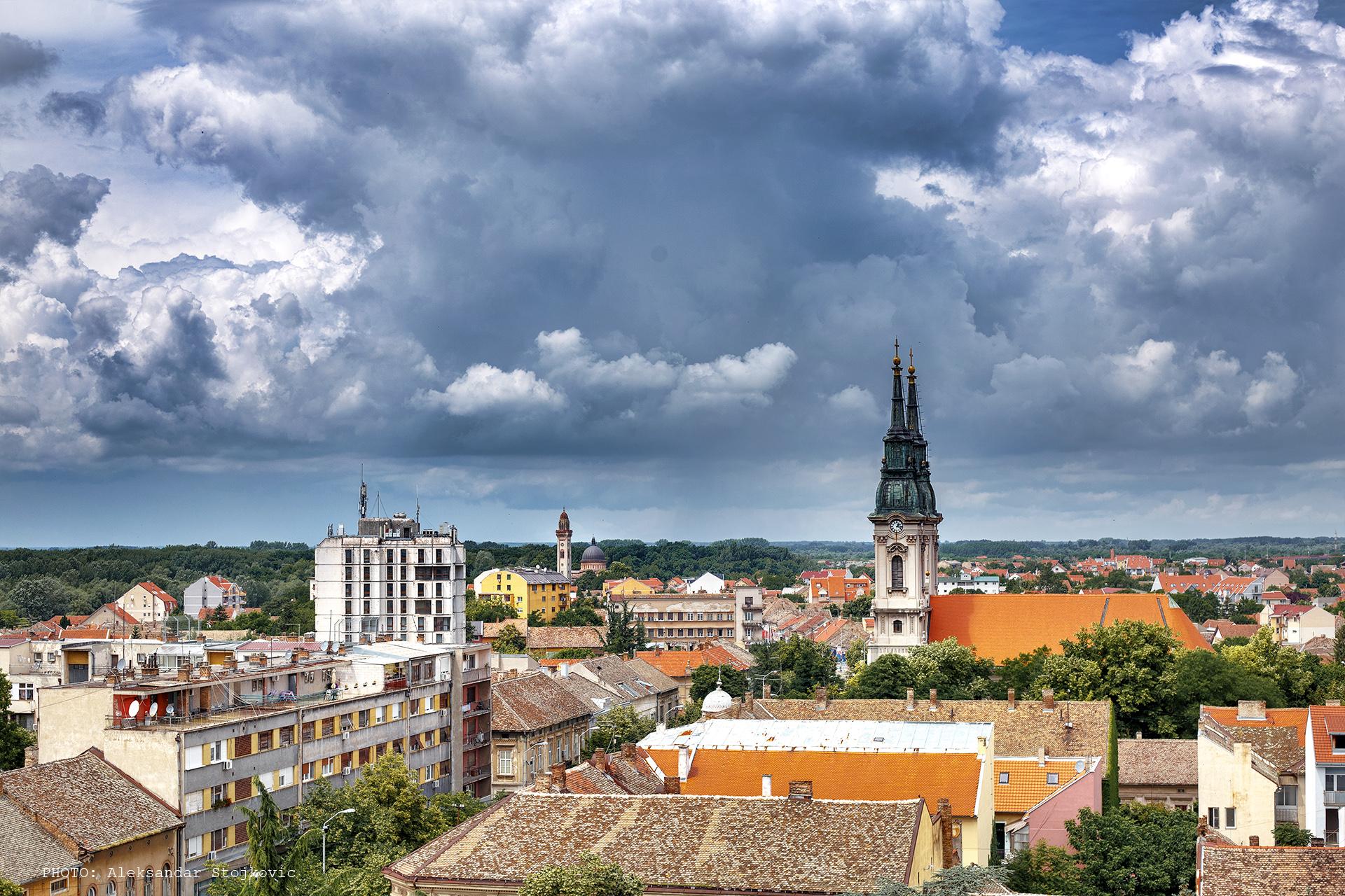 Pančevo panorama