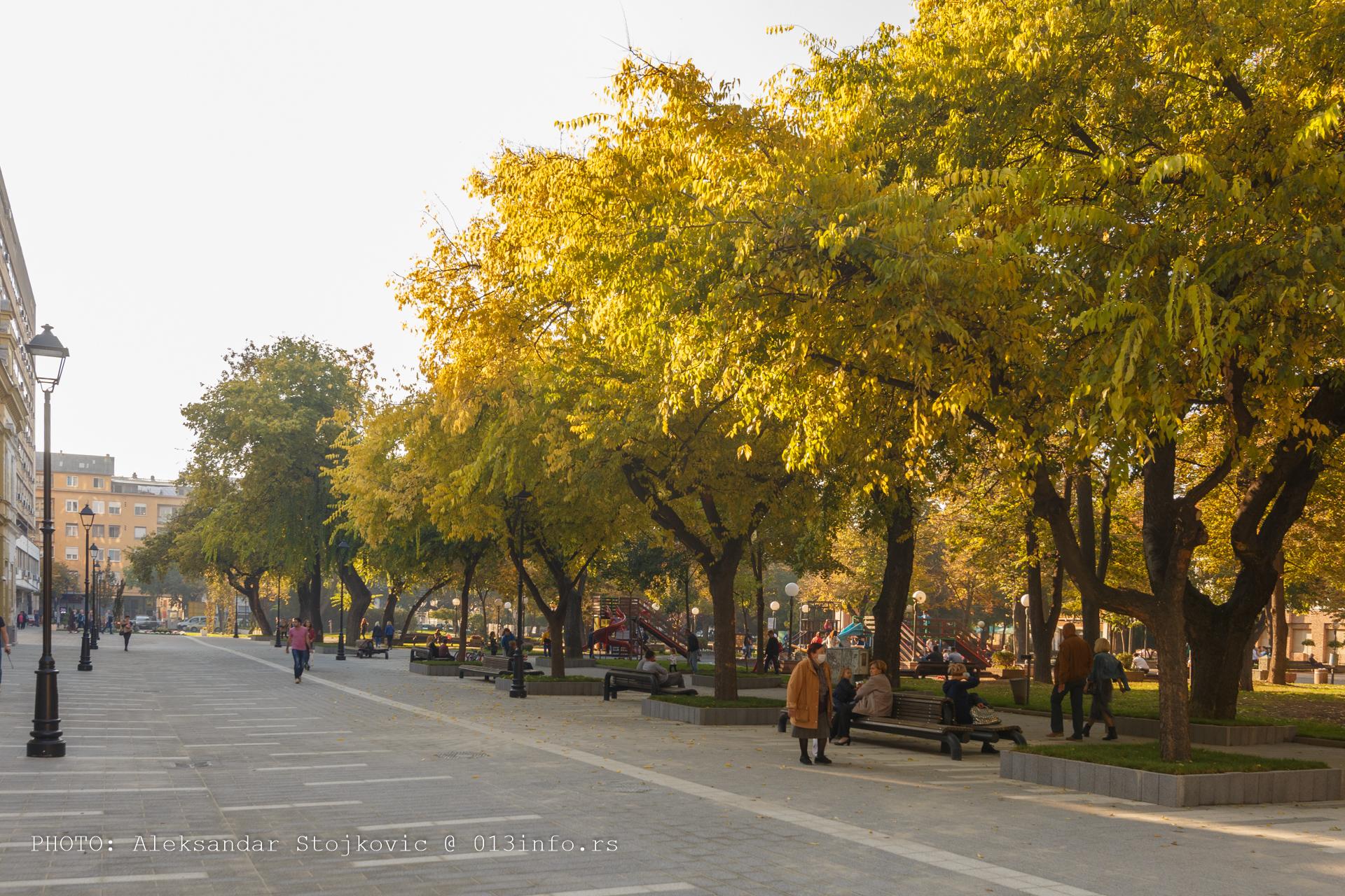 Šetalište pored parka rekonstruisano