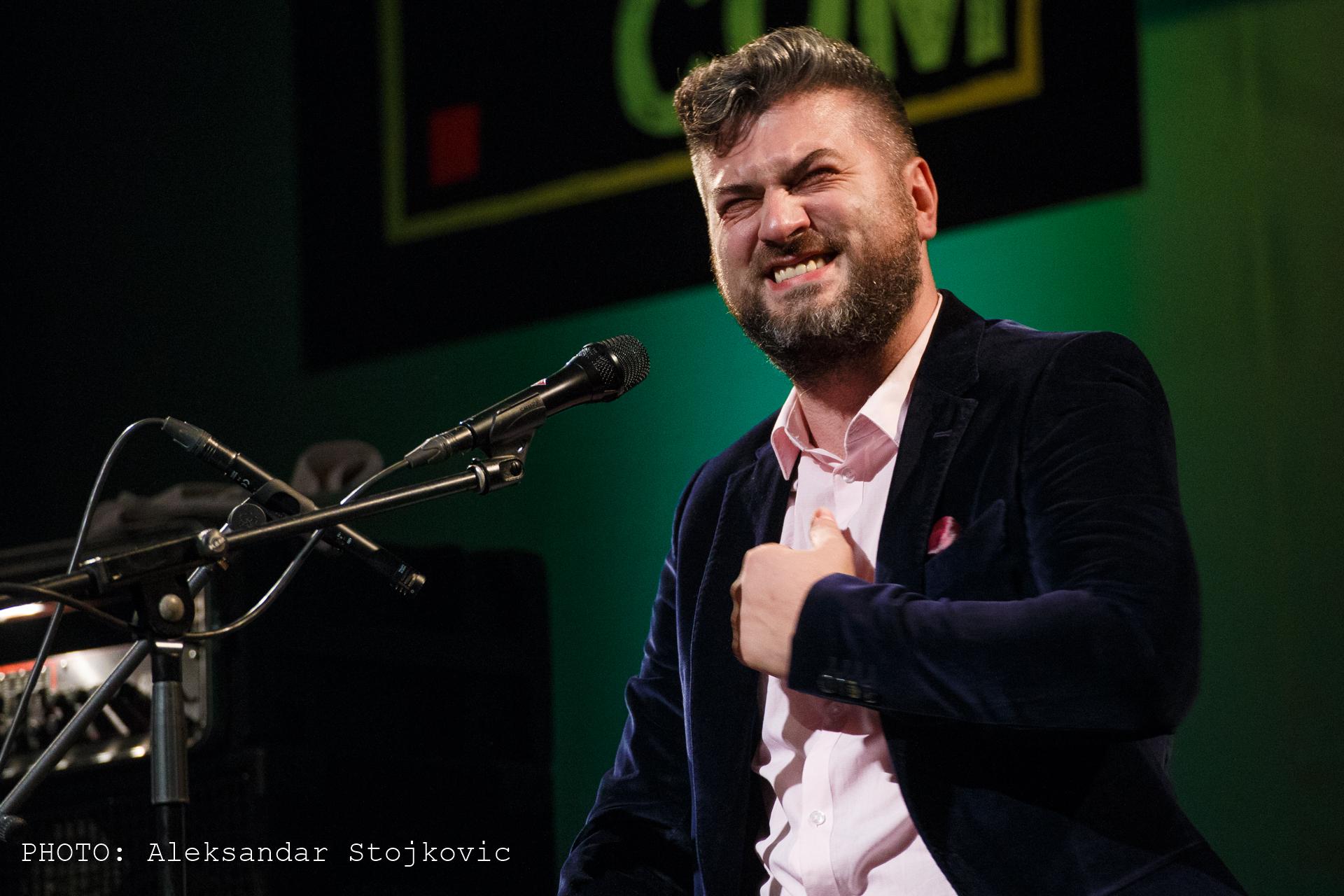 Damir Imamović u Pančevu ETHNO.com