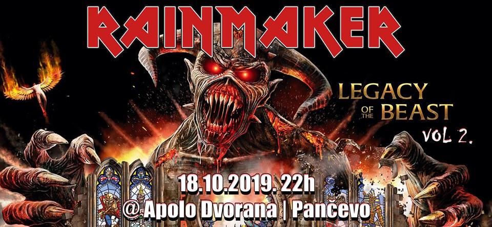 Rainmaker Iron Maiden Tribute u Apolu