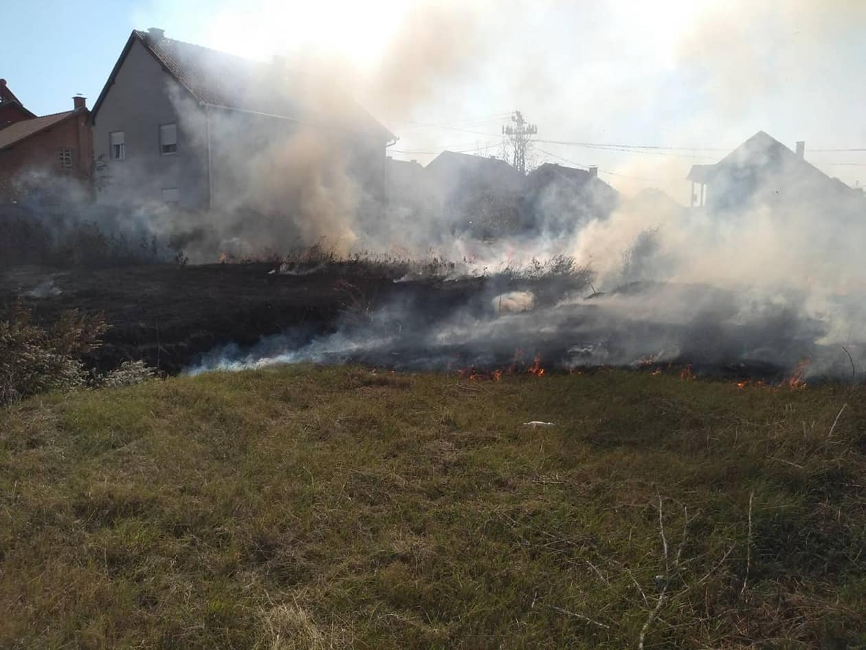 Požar u Jabuci