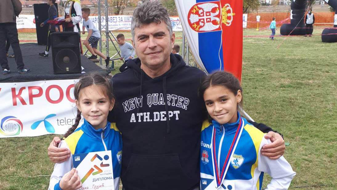 Jana Grujić, Ksenija Mrkela i Ljupčo Cvetkoski