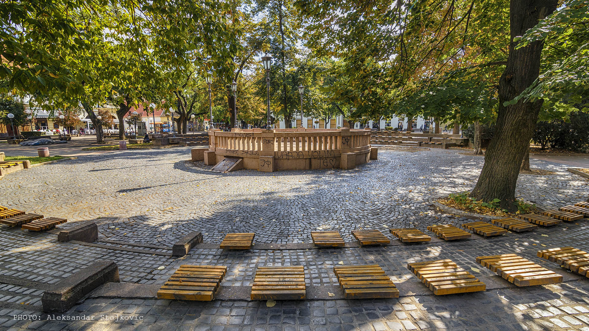 Jesen u krugu u Pančevu