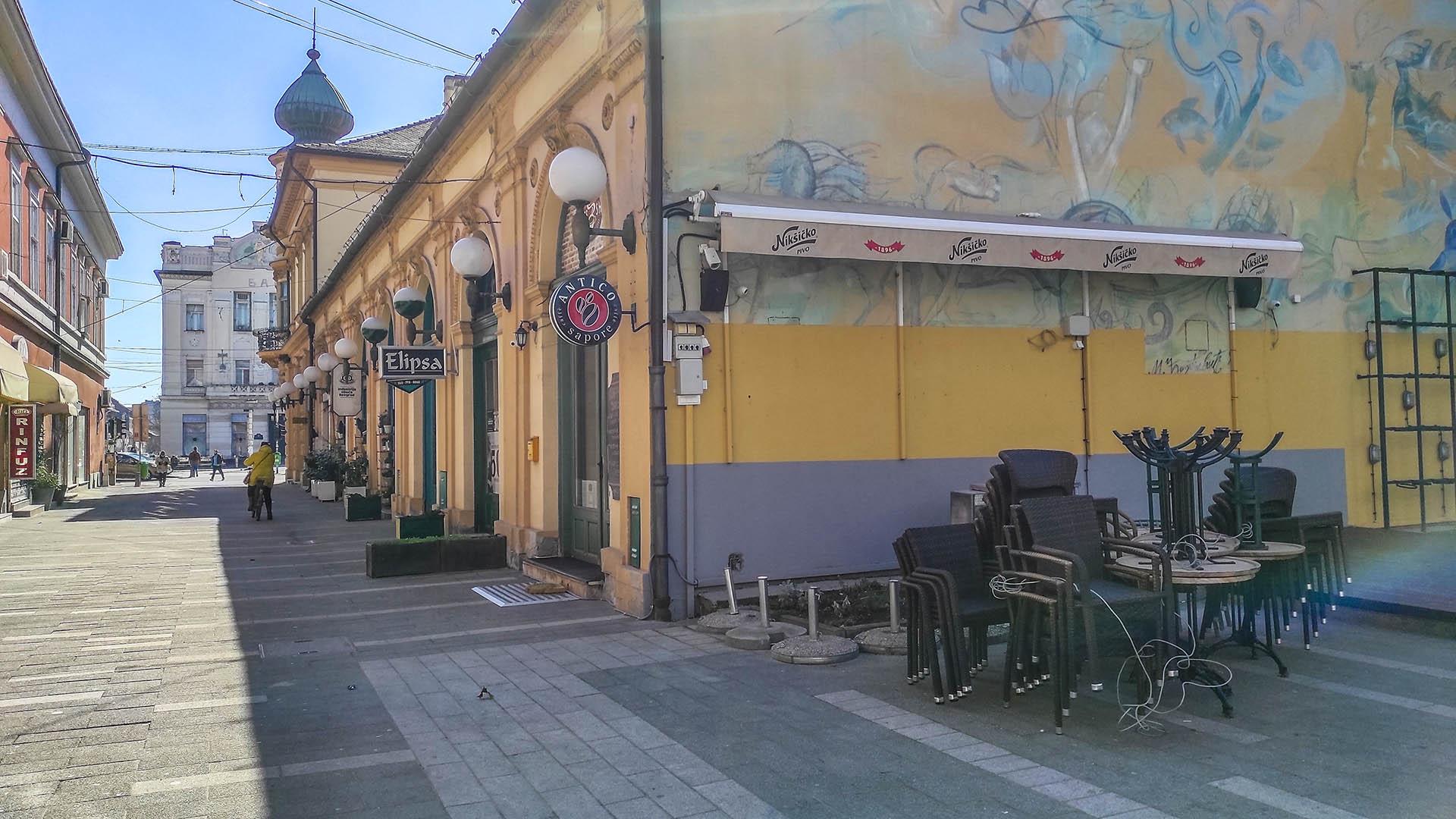 Coffee Shop zatvoren