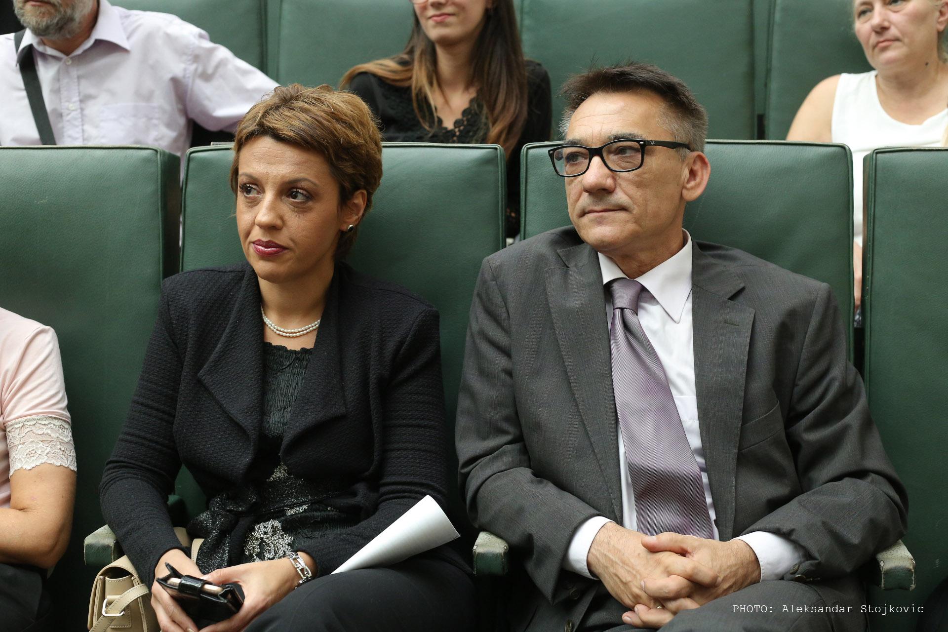 Maja Vitman i Đurica Dolovački