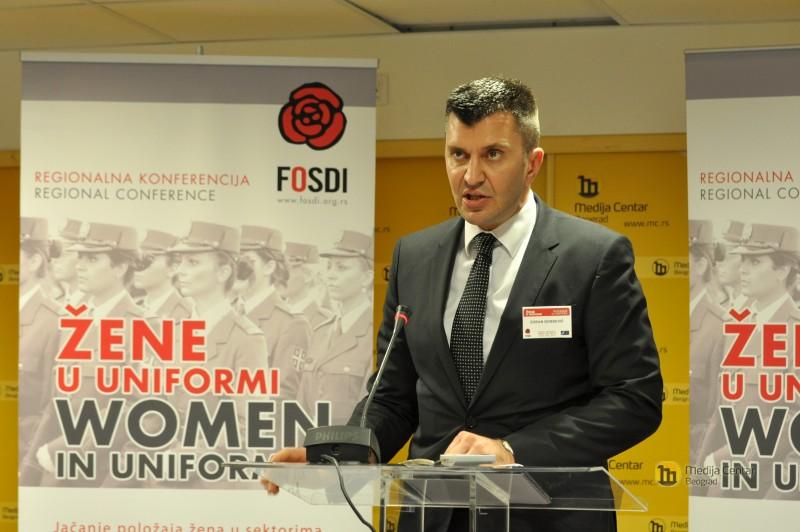 Ministar Zoran Đorđtević