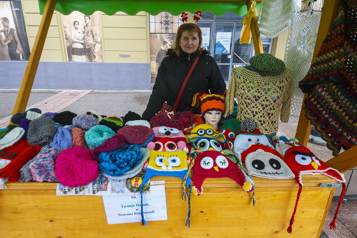 Novogodišnji bazar u Pančevu