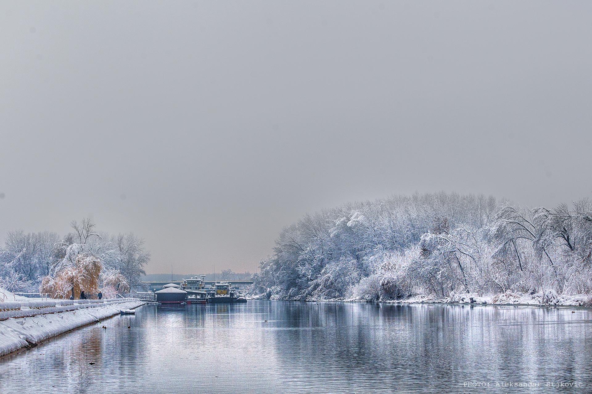Pančevo, Tamiš, zima 2018. decembar