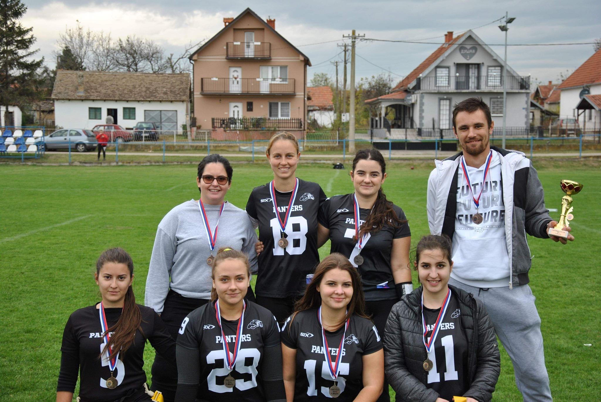 Pančevo Panthers ženska ekipa