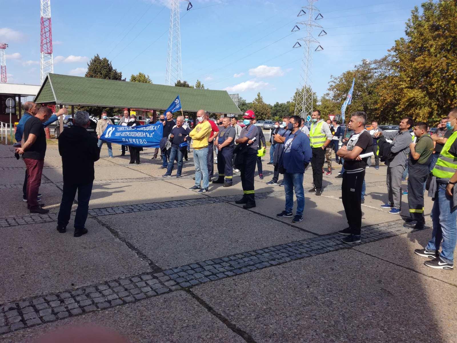Petrohemija protest u petak