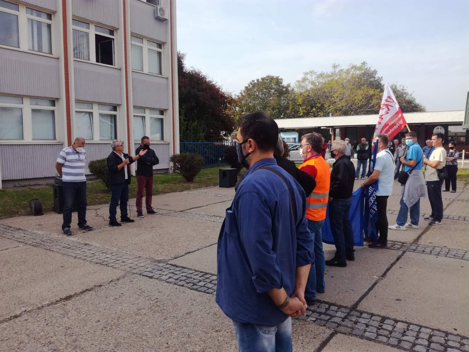 Protest u Petrohemiji u ponedeljak