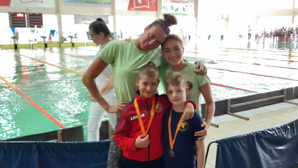Plivači Sparte u Zrenjaninu