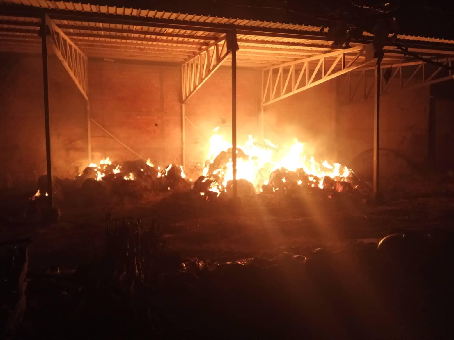 Požar u Omoljici