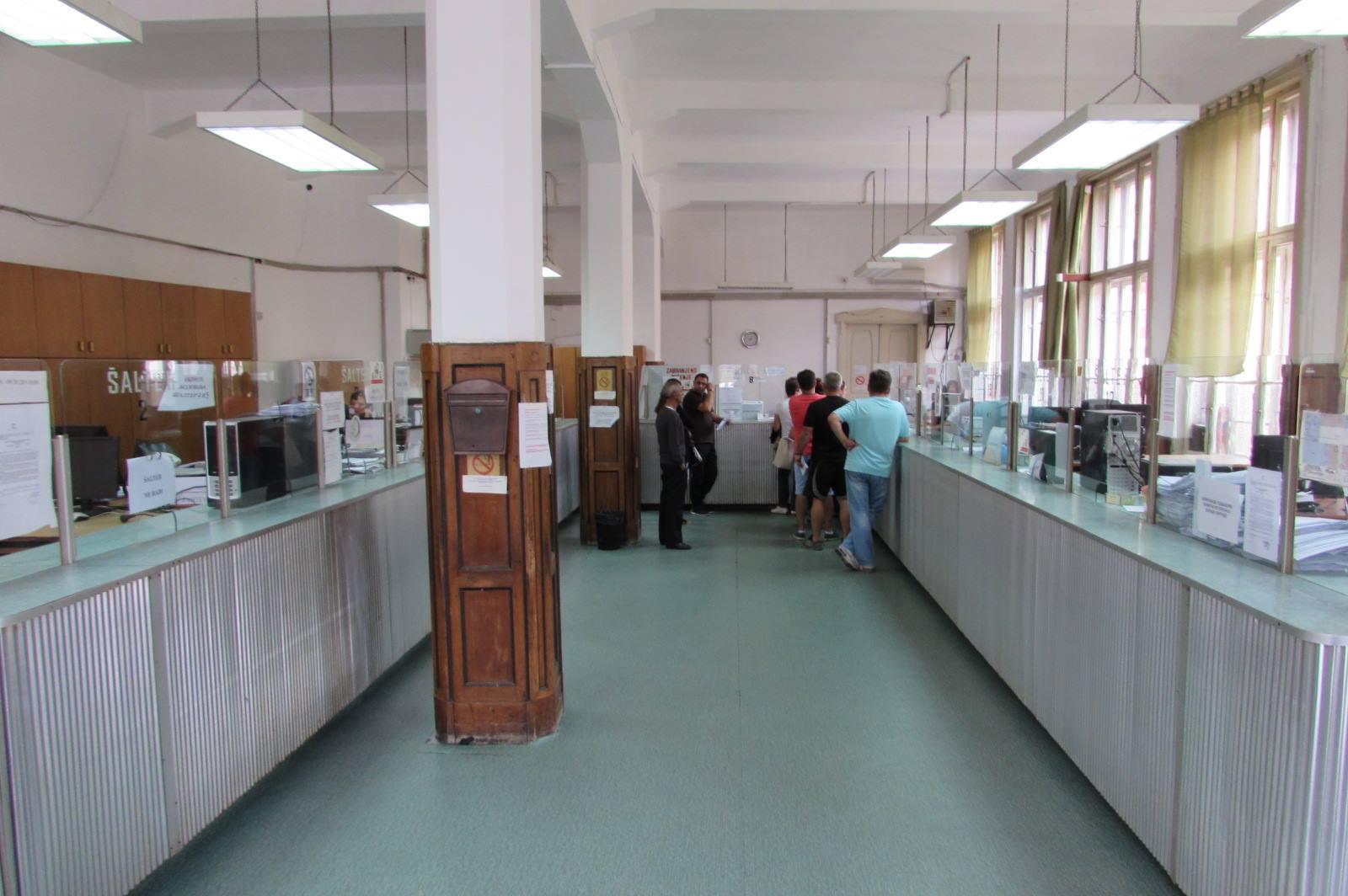 Šalter sala RFZO Pančevo